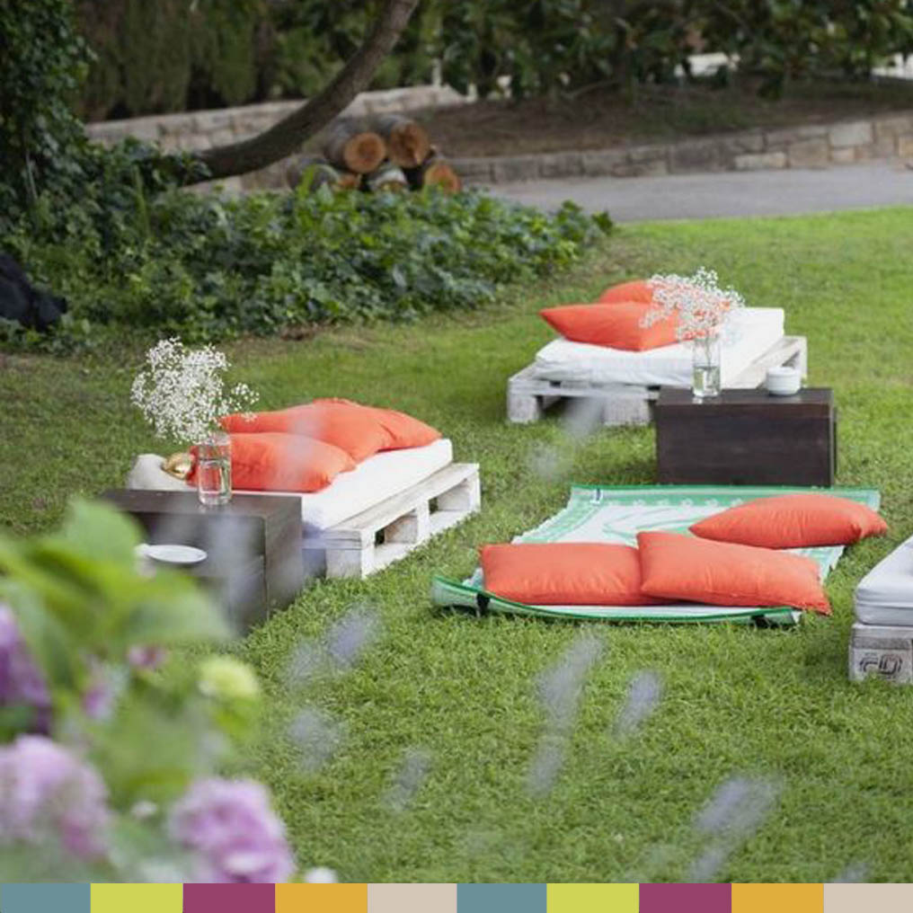 Jardines chill out cool porches terraza y mobiliario - Chill out jardin ...