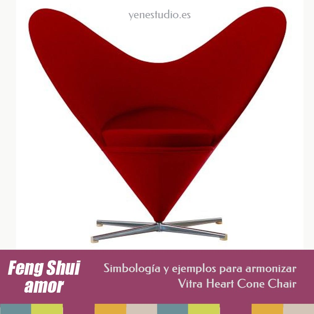 Vitra Cone heart chair feng shui amor