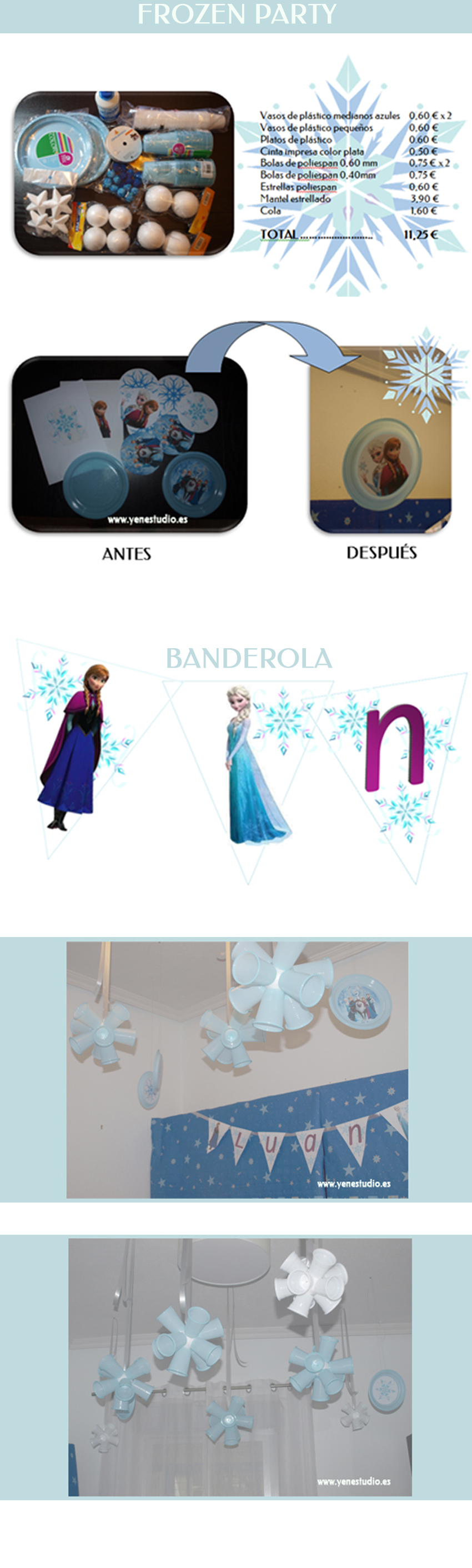 Low Cost Frozen Party a