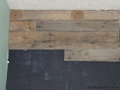pallet bathroom wall rustic wood