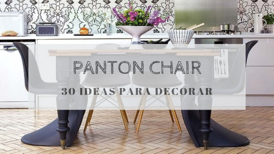 30 Ideas para decorar con la Panton Chair
