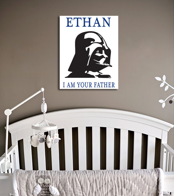 Stars Wars decoración pared i am your father