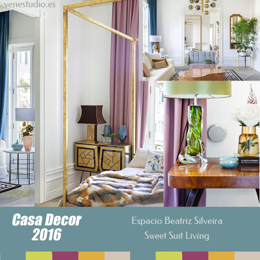Dormitorio Casa Decor 2016 Beatriz Silveira