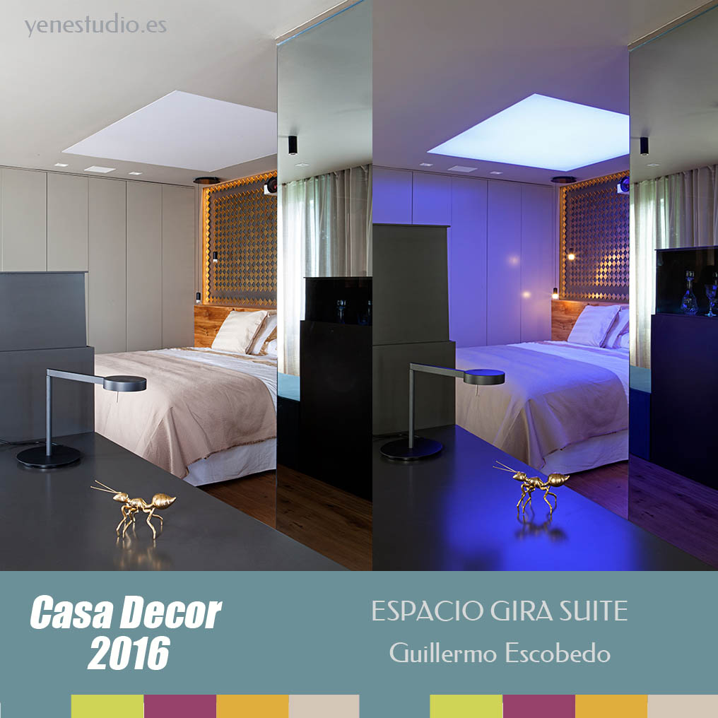 Dormitorio Casa Decor 2016 Espacio de Guillermo Escobedo 2