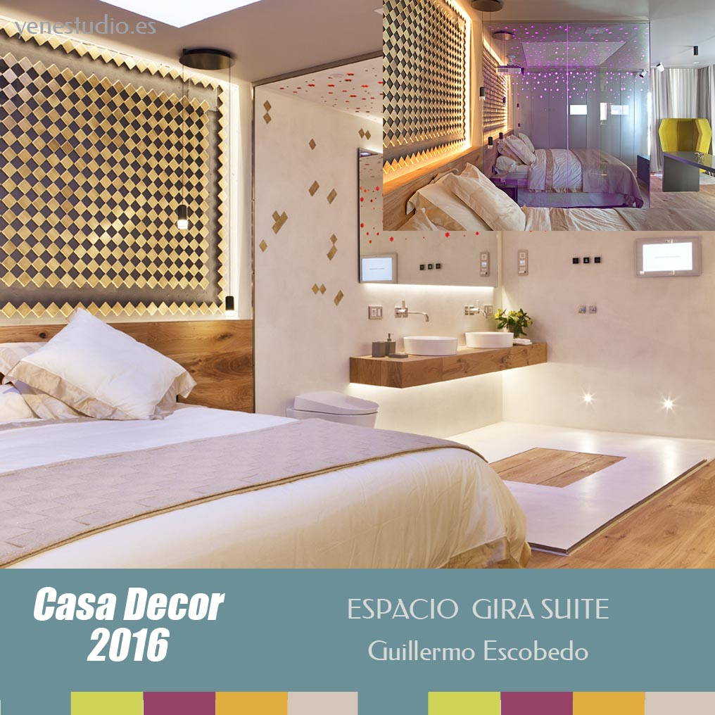 Dormitorio Casa Decor 2016 Espacio de Guillermo Escobedo