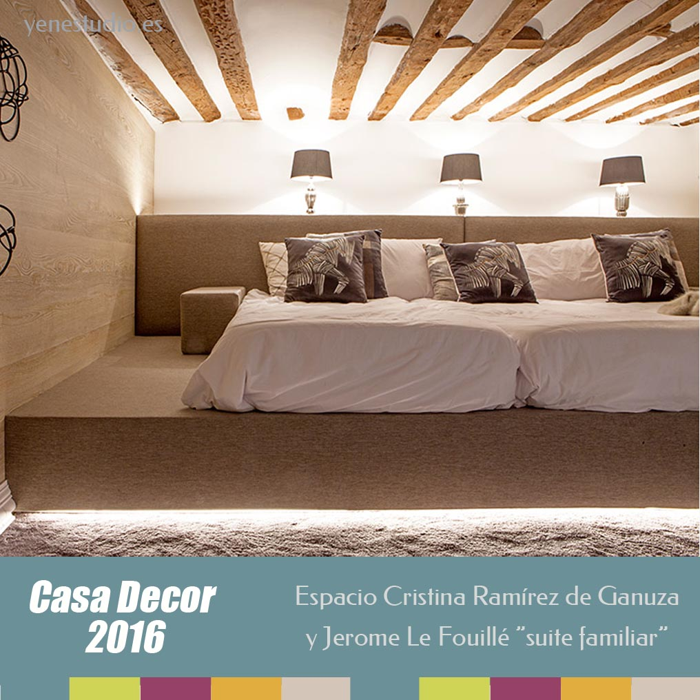 Suite Familiar Casa Decor 2016 Cristina Remirez y Jerome Le Fouillé