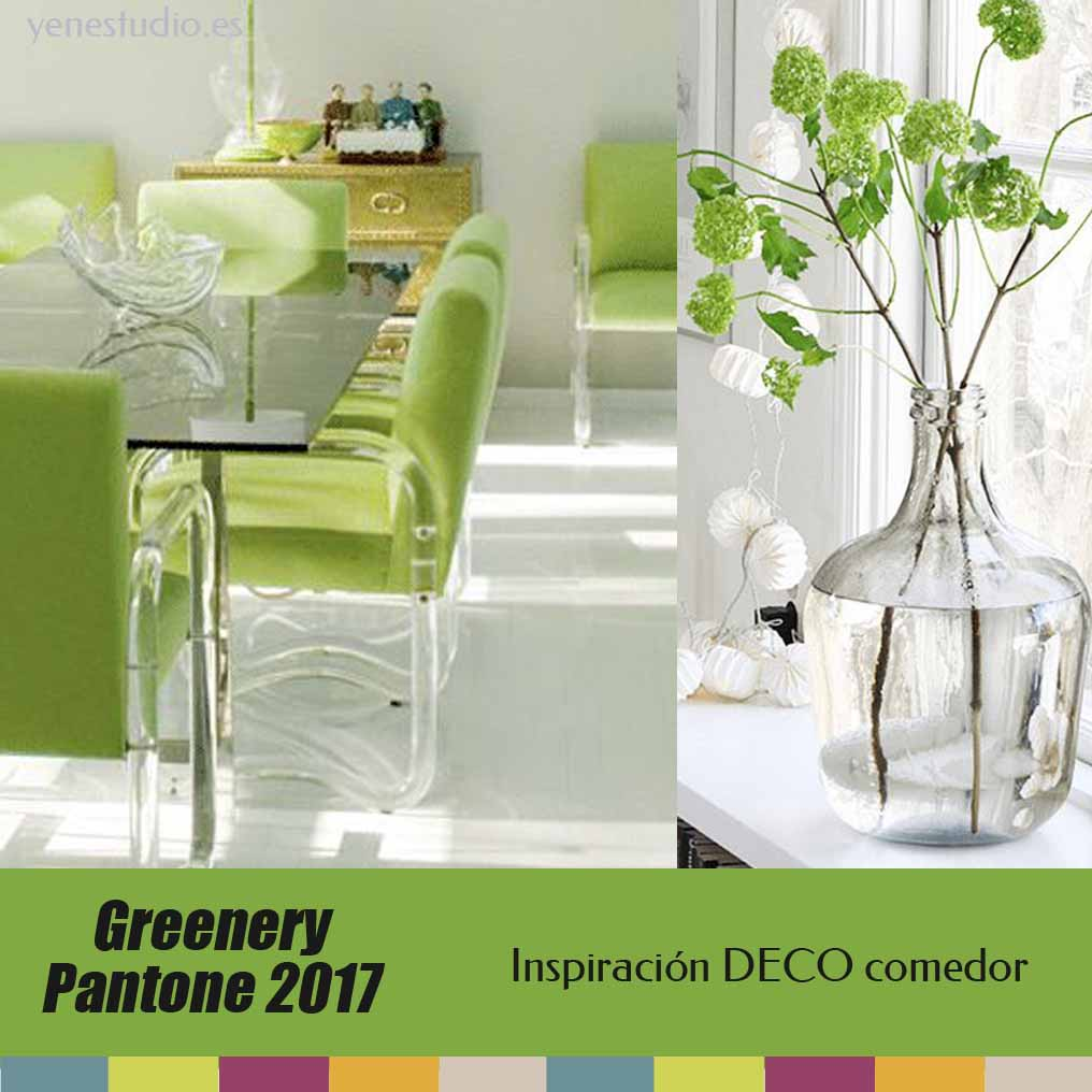 Greenery nuevo color tendencia pantone 2017 yen estudio for Decoracion del hogar segun el feng shui