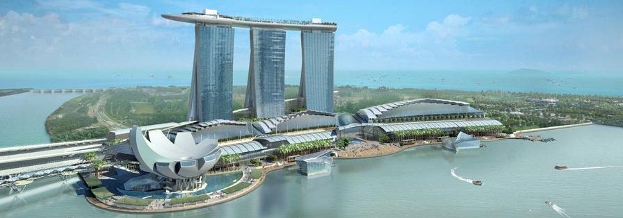 Marina Bay Sands, un ejemplo de construcción Feng Shui