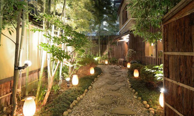 Diseño de camino en jardines