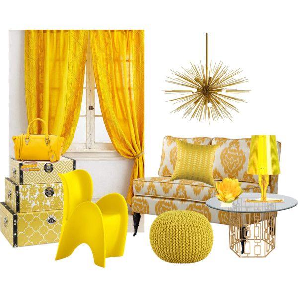 Hágase la luz: uso del amarillo en la decoración