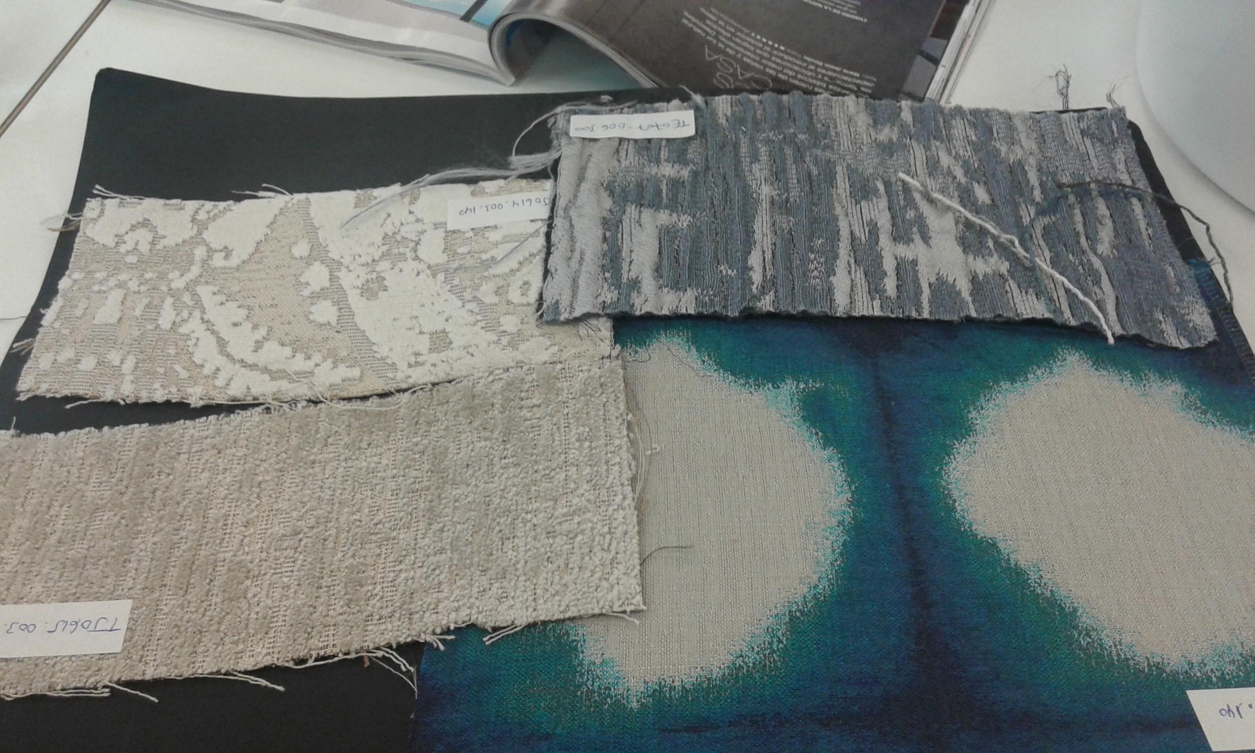 Taller cómo decorar con telas con Gancedo