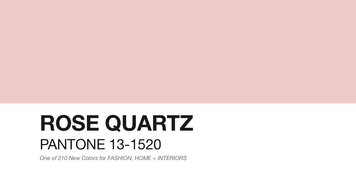Tendencia Pantone 2016: Cuarzo rosa